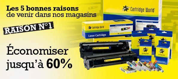 Cartridge World Beauvais recharge votre cartouche d'imprimante