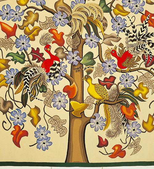 arbre tapisserie