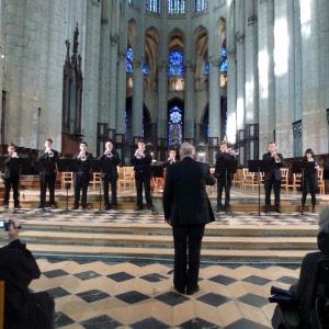 Concert du  Conservatoire et de l'Académie Internationale de Trompette du Grand Nord de la France, en 2012.